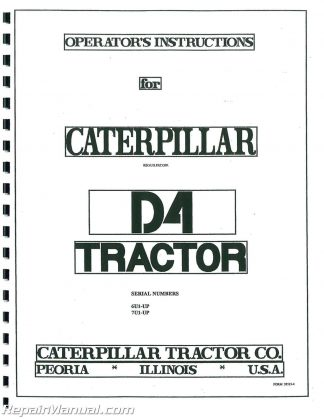 Caterpillar 3306 Diesel 6 Cylinder Vehicular Engine Service