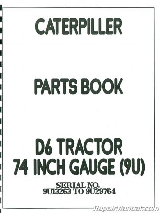 Caterpillar D4 Crawler and 955 Traxcavator Chassis Service