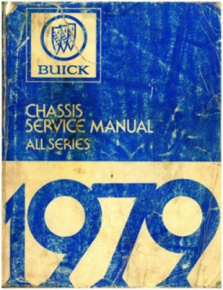 1977 Buick Chassis Service Manual All Series Used