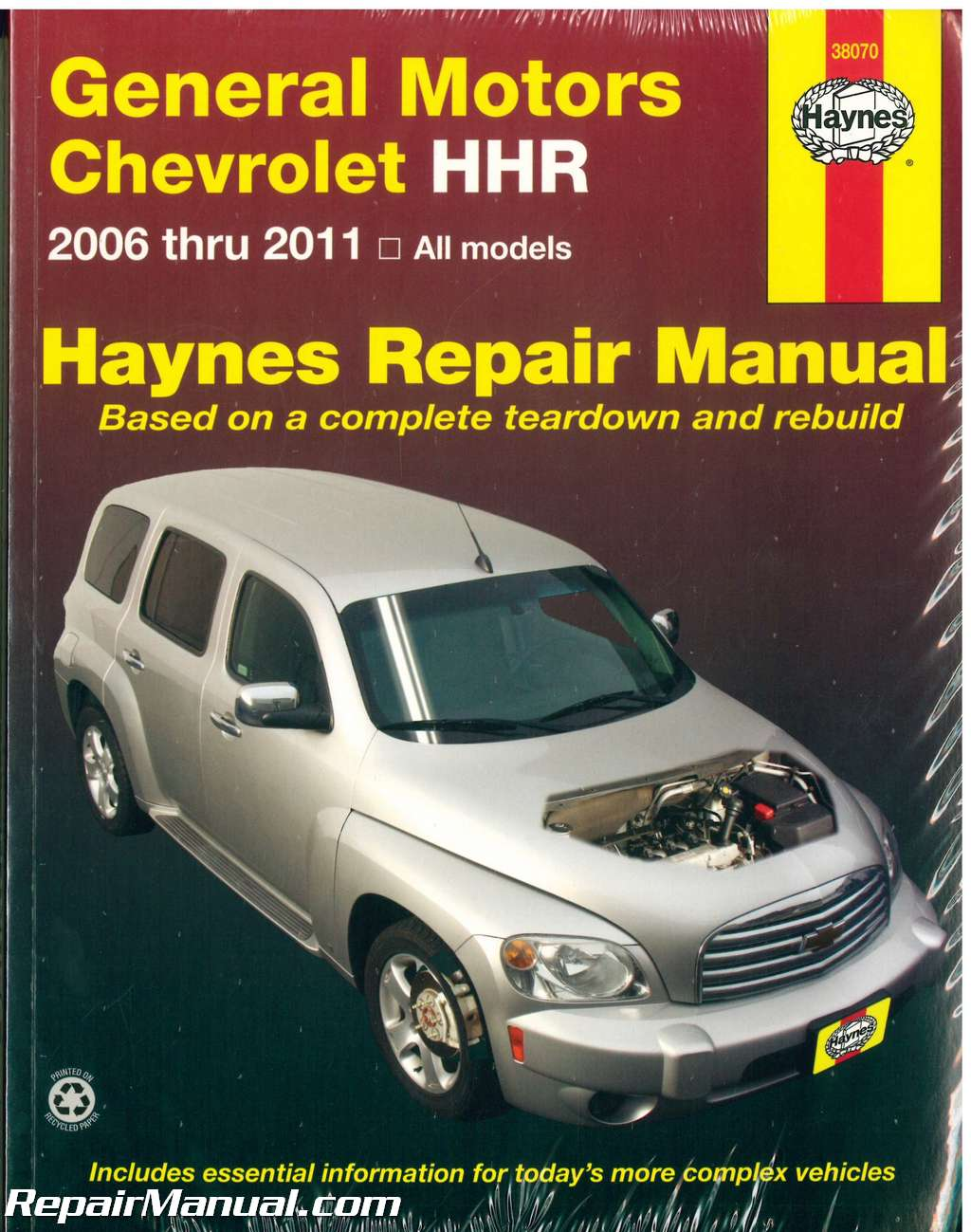 Chevrolet Hhr 2006 2011 Repair Manual By Haynes