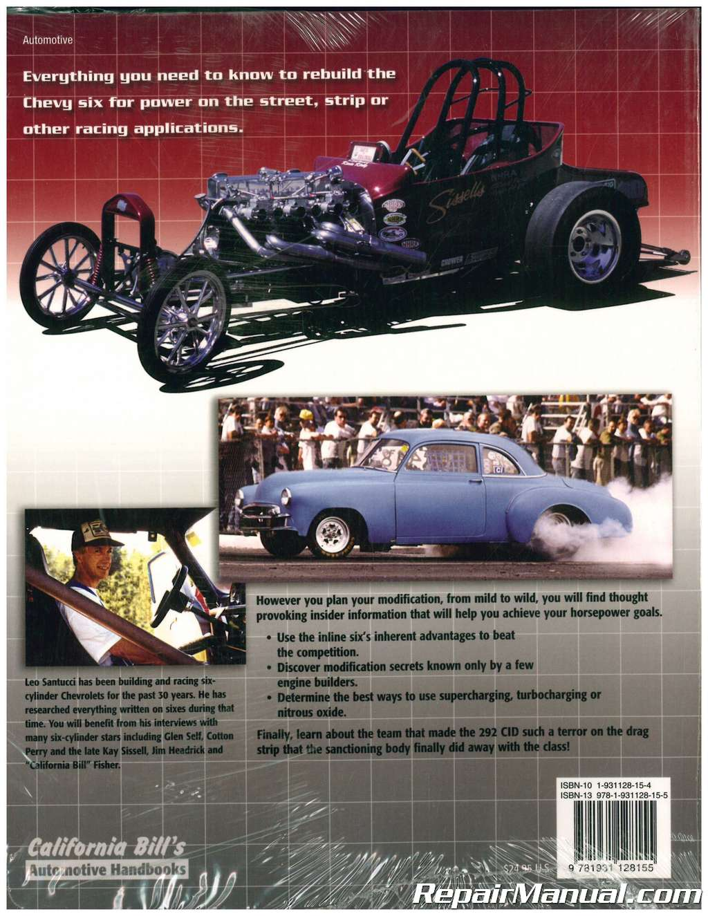 Chevrolet inline six-cylinder power manual. : target.