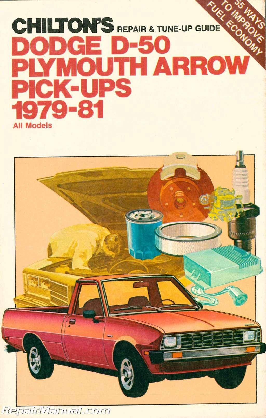 ... Repair Manual. Sale! chilton-1979-1981-dodge-d-50-plymouth-arrow-