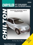 Chilton 2001-2009 Chrysler PT Cruiser Repair Manual