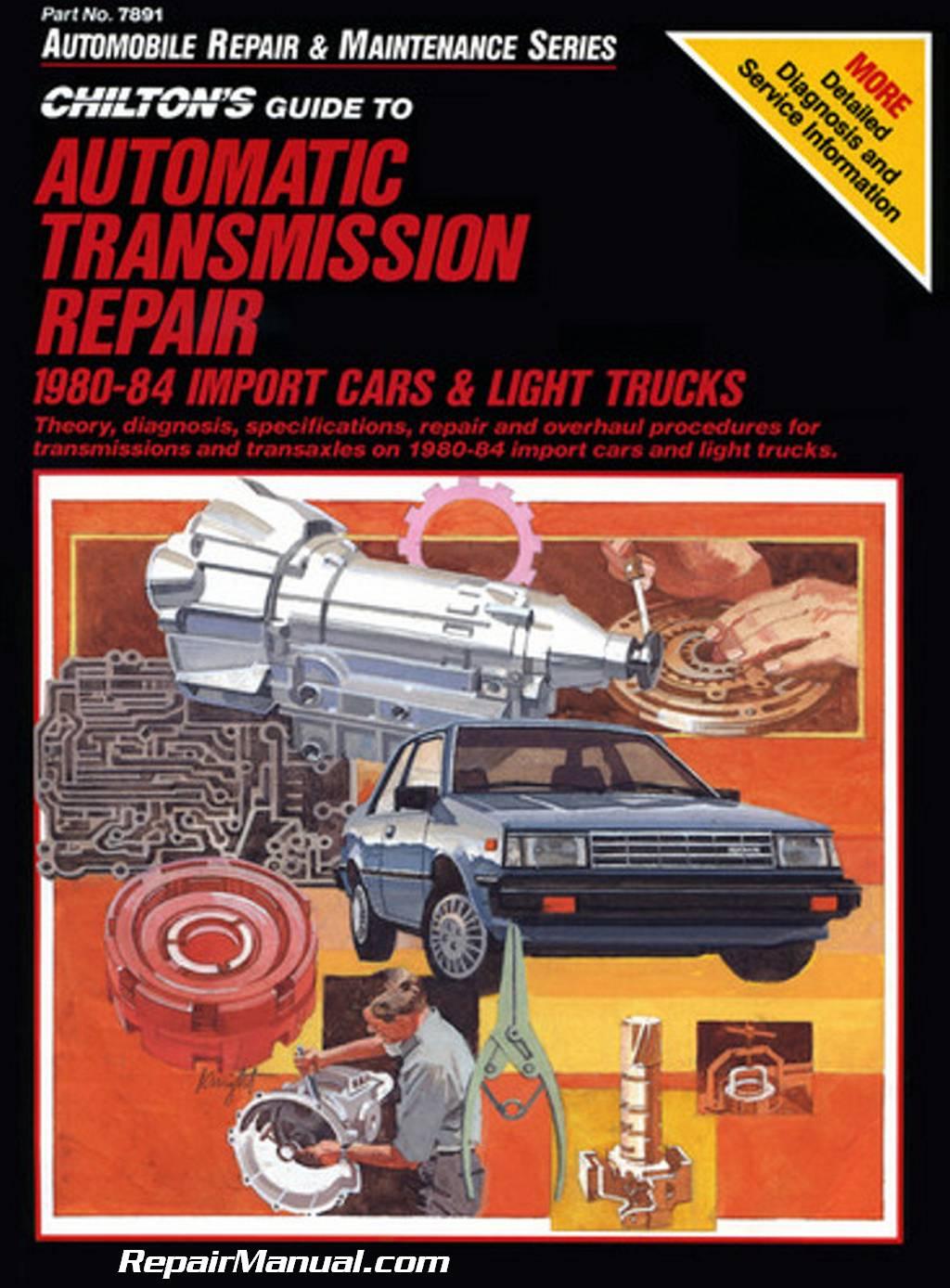 Chilton Automatic Transmission Repair Manual Import Cars