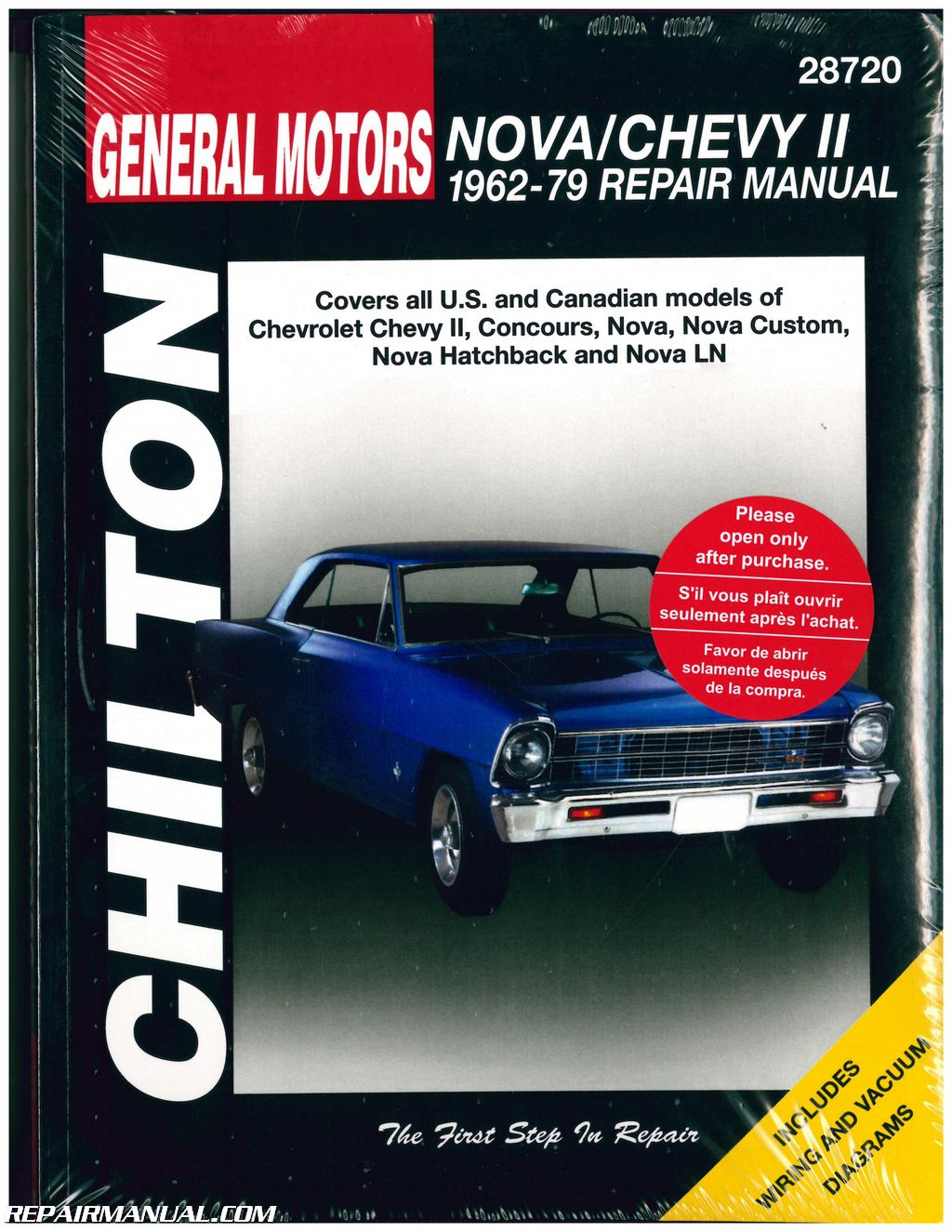Chilton Chevrolet Nova Chevy II 1962-1979 Repair Manual on 79 chevy horn, 79 chevy radio, 79 chevy engine diagram, 79 chevy charging system, 79 chevy fusible link, 79 chevy distributor diagram, chevy s10 fuse box diagram, 79 chevy flywheel, 79 chevy ignition switch, 1984 chevy fuse box diagram, 79 chevy body, 79 chevy starter wiring, 79 chevy voltage regulator, 79 chevy transmission, 79 chevy fuse box diagram, 1972 chevy truck vacuum diagram, 79 chevy alternator diagram, 79 chevy fuel system diagram, chevy ignition switch diagram, 79 chevy motor,