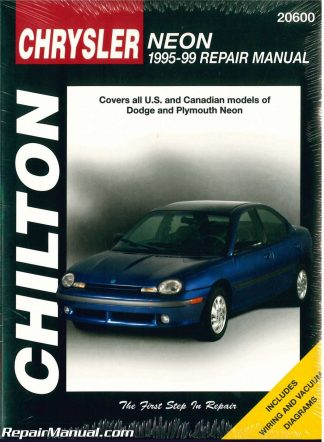 used chilton dodge neon 1995 1999 repair manual rh repairmanual com 1998 Dodge Neon 2017 Dodge Neon