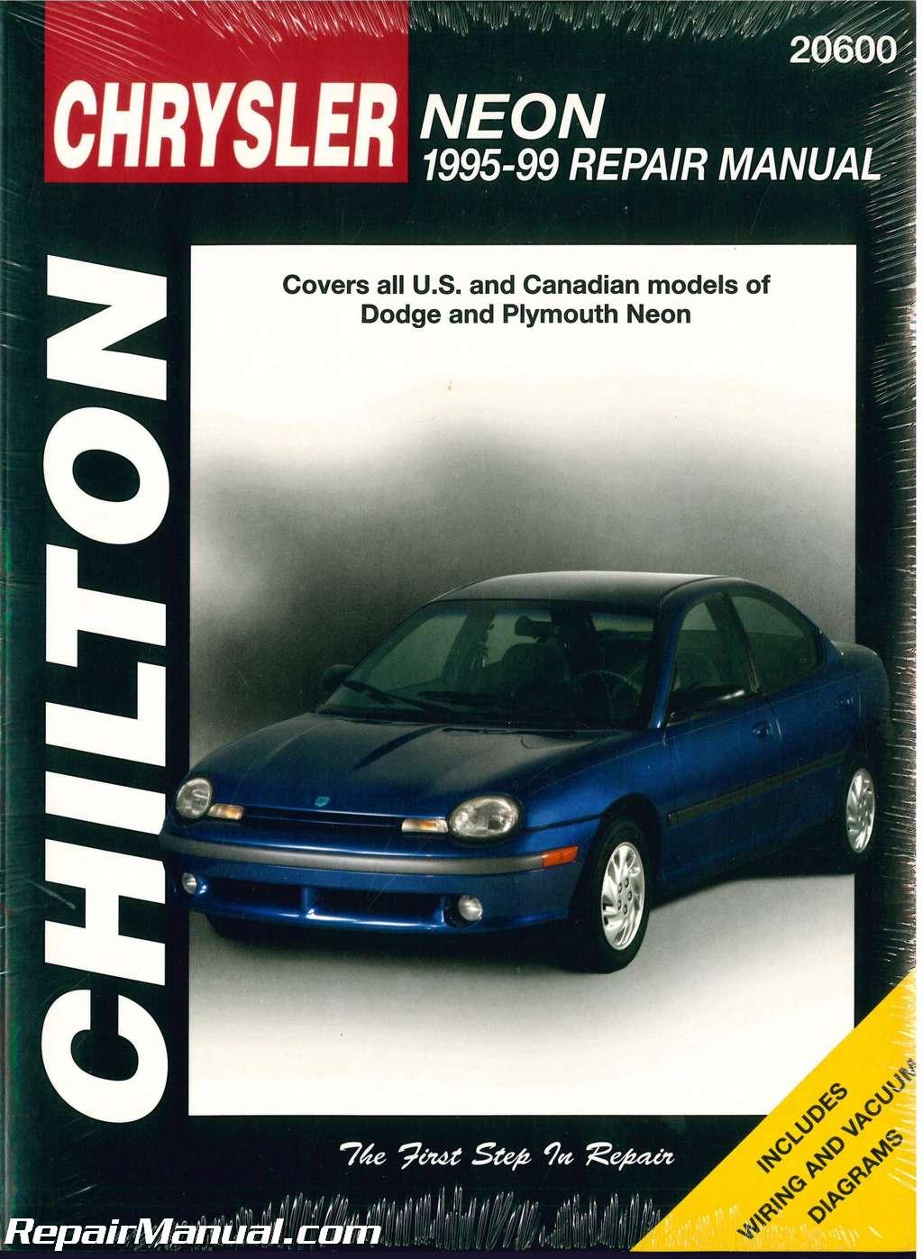 used chilton dodge neon 1995 1999 repair manual rh repairmanual com chrysler neon service manual chrysler neon service manual