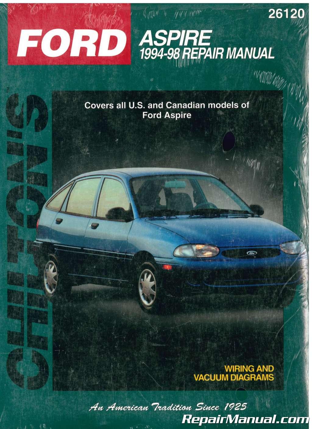 chilton ford aspire 1994-1998