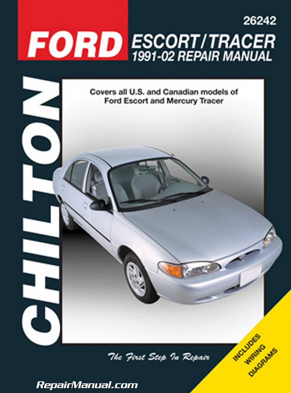 Chilton Ford Escort & Tracer, 1991-2002 Repair Manual
