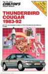 Chilton Ford Thunderbird Cougar 1983-1992 Repair Manual