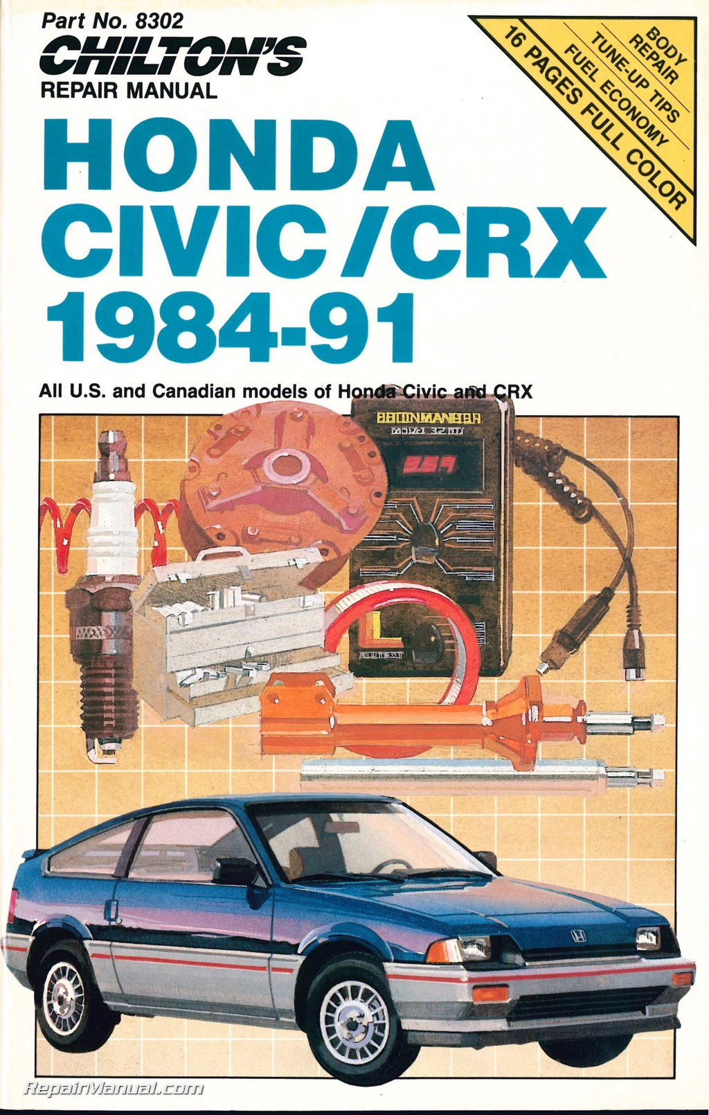 Hqdefault additionally Maxresdefault likewise Large additionally Chilton Honda Civic Crx Repair Manual together with Barn Finds Honda Crx. on 1989 honda crx