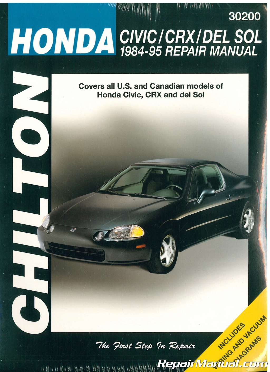 Chilton-Honda-Civic-CRX-and-del-SOL-1984- ...