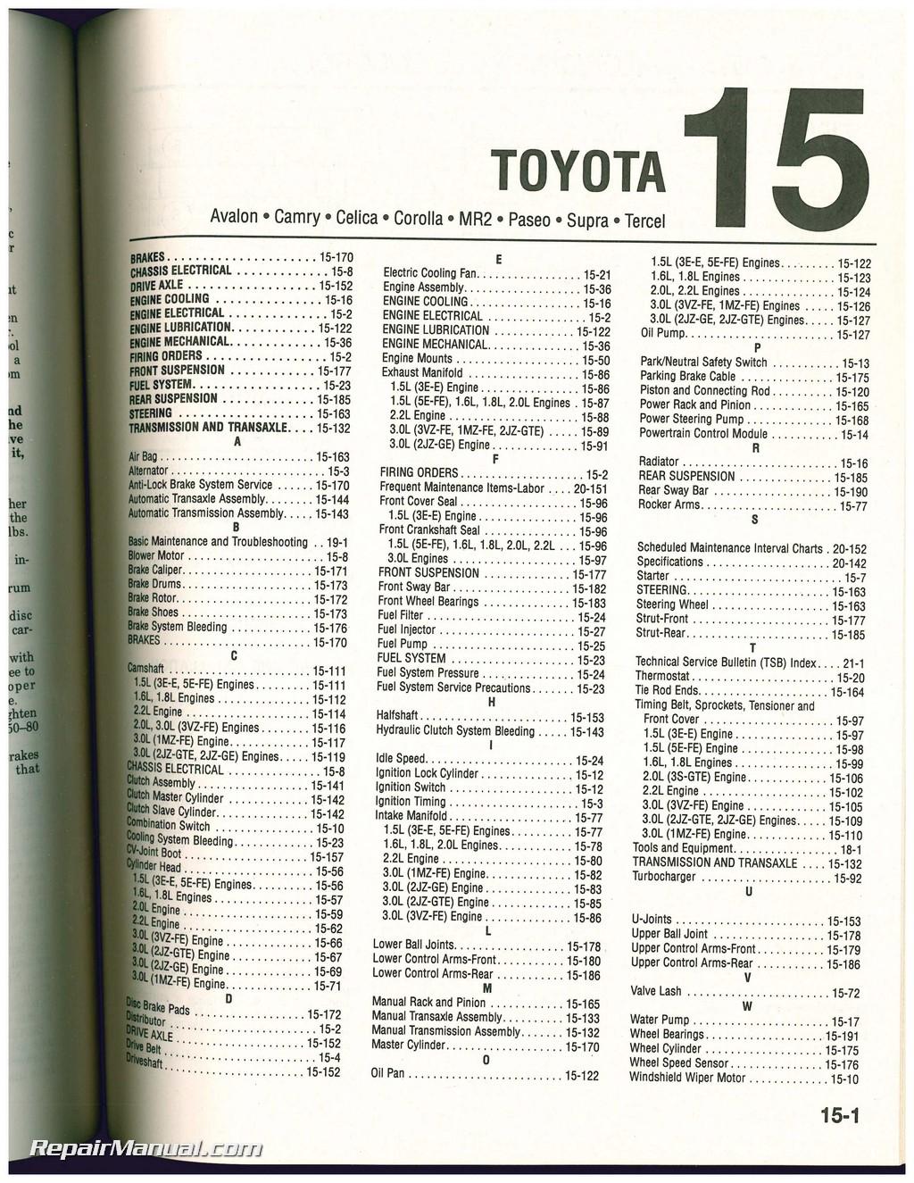 Used Chilton Import Car Repair Manual 1993