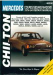 Chilton Mercedes Coupes Sedans Wagons 1974-1984 Repair Manual_002