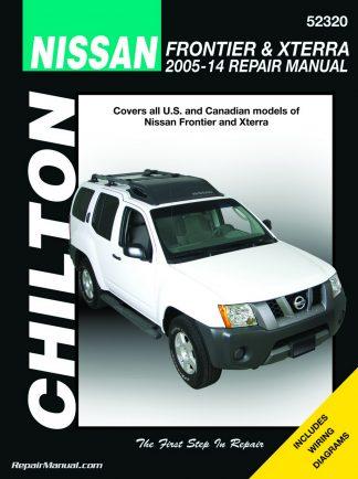 Chilton Nissan Frontier Xterra 2005 2014 Repair Manual 324x434 nissan sentra 4 door sedan gxe wiring diagrams 1988 used