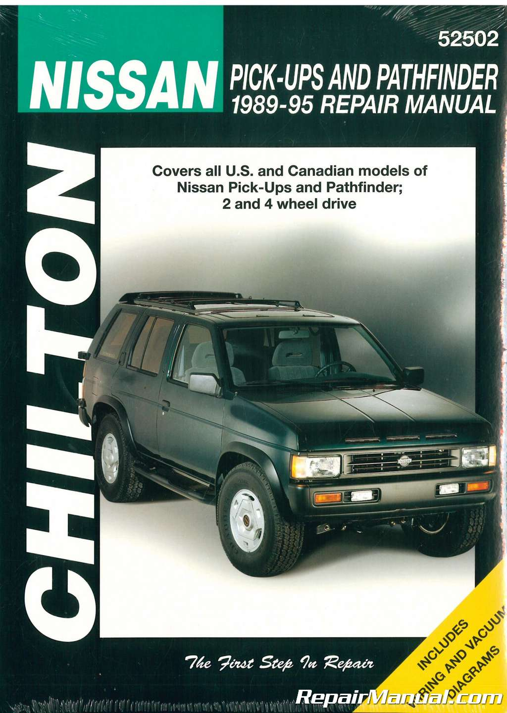 chilton nissan pick ups and pathfinder 1989 1995 repair manual rh repairmanual com 1995 nissan pickup parts manual 1995 nissan pickup repair manual pdf
