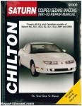Chilton Saturn Coupes Sedans Wagons 1991-2002 Repair Manual_001
