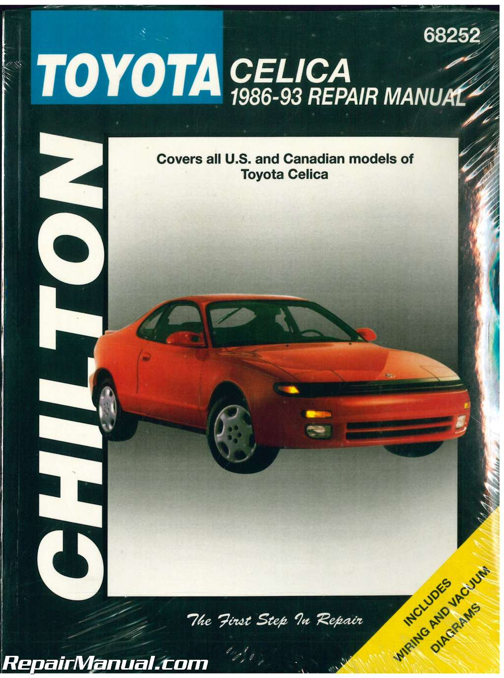 Chilton Toyota Celica 1986 1993 Repair Manual