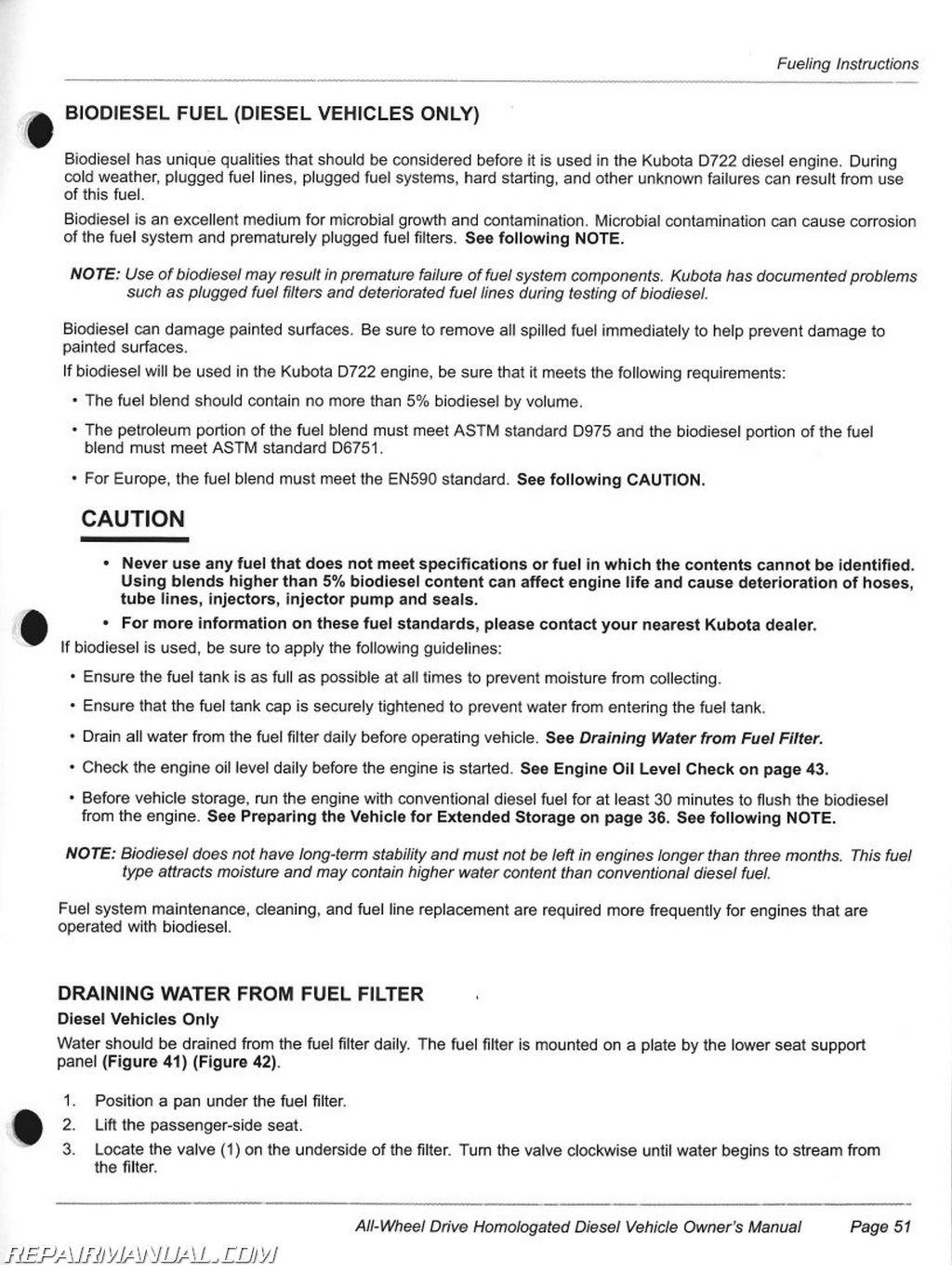 club car carryall 295 homologated diesel vehicle owners manual rh repairmanual com automobile owners manuals for sale automobile owners manuals free