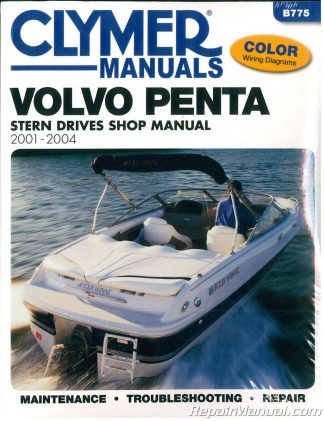 Inboard Outdrive Boat Transmission and Drive System Service Manual