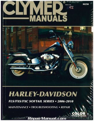 1966-1984 Harley-Davidson FL FX Shovelhead Motorcycle Repair Manual