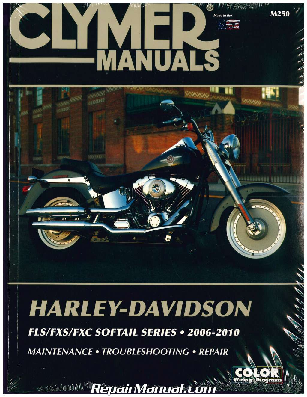Actual parts may vary. Manufacturer: CLYMER 1991-1998 Harley Davidson FXD Evolution CLYMER MANUAL HD FXD EVOLUTION91-98 Stock Photo Manufacturer Part Number: M424-2-AD