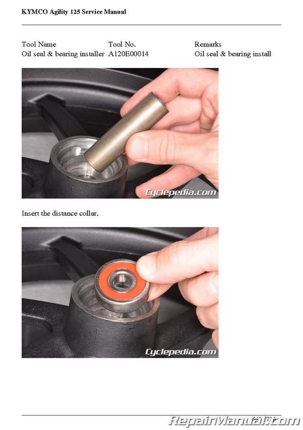 Kymco agility 50 repair manual ebook.