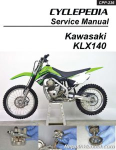 Cyclepedia Kawasaki KLX140 Motorcycle Manual - Printed_Page_1