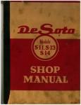 Used De Soto S-11 S-13 S-14 Shop Manual