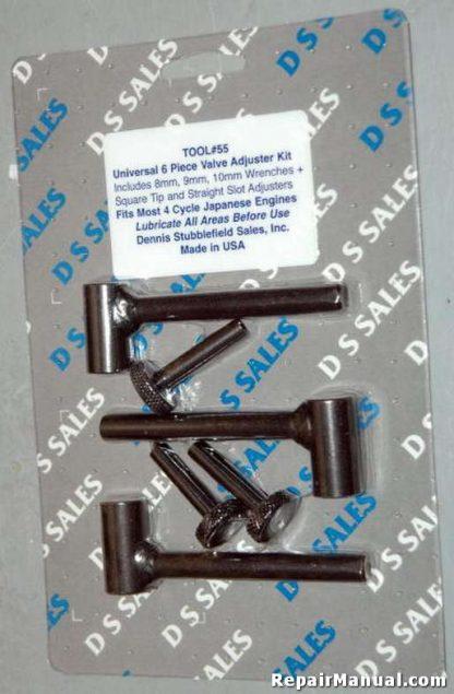 Honda Kawasaki Yamaha Valve Rocker Adjustment Kit