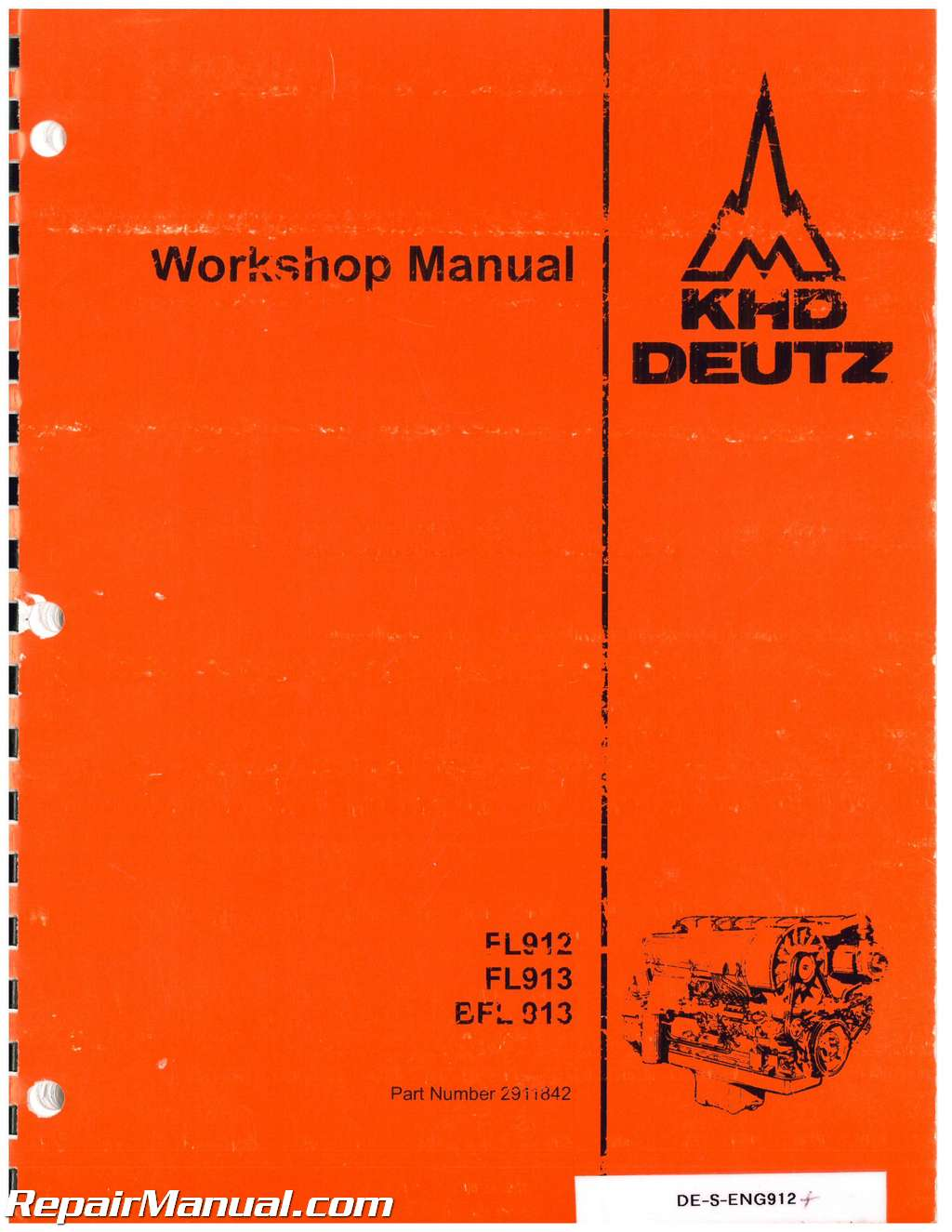 ... Array - deutz allis model 912 913 engine service manual rh repairmanual  ...