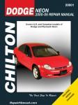 Dodge Neon 2000-2005 Chilton Car Repair Manual