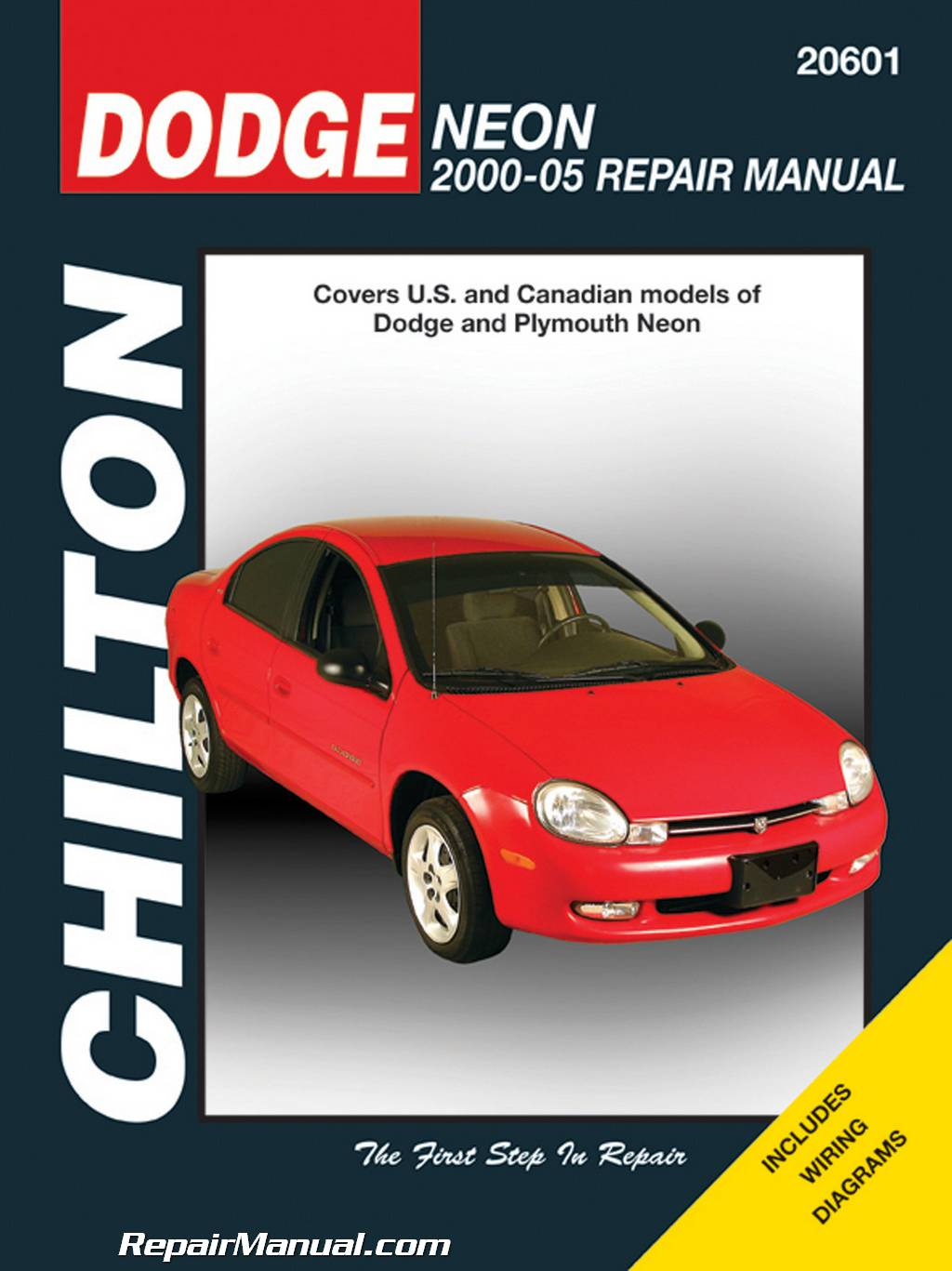 Honda Vin Decoder >> Dodge Neon 2000-2005 Chilton Car Repair Manual