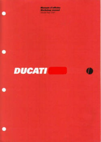 Official 2001 Ducati 750 SS 750 S Factory Service Manual