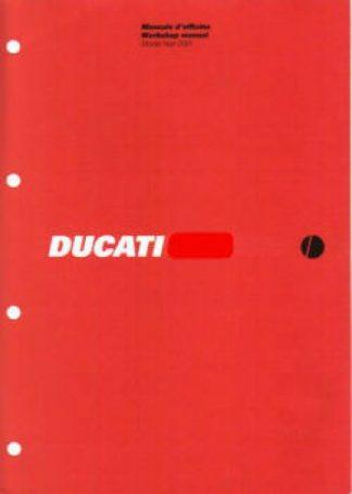 Official 2003 Ducati MULTISTRADA Factory Service Manual
