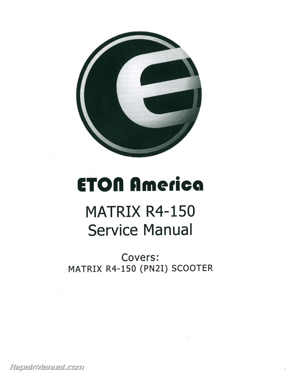 ... Array - eton matrix r4 150 service manual rh repairmanual ...