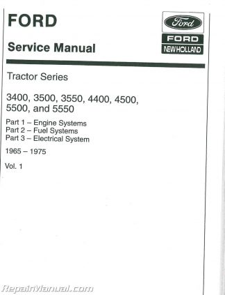 Ford New Holland 5640 6640 7740 7840 8240 8340 Tractor