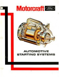 Official Ford Motocraft Alternator Service and Testing Procedures