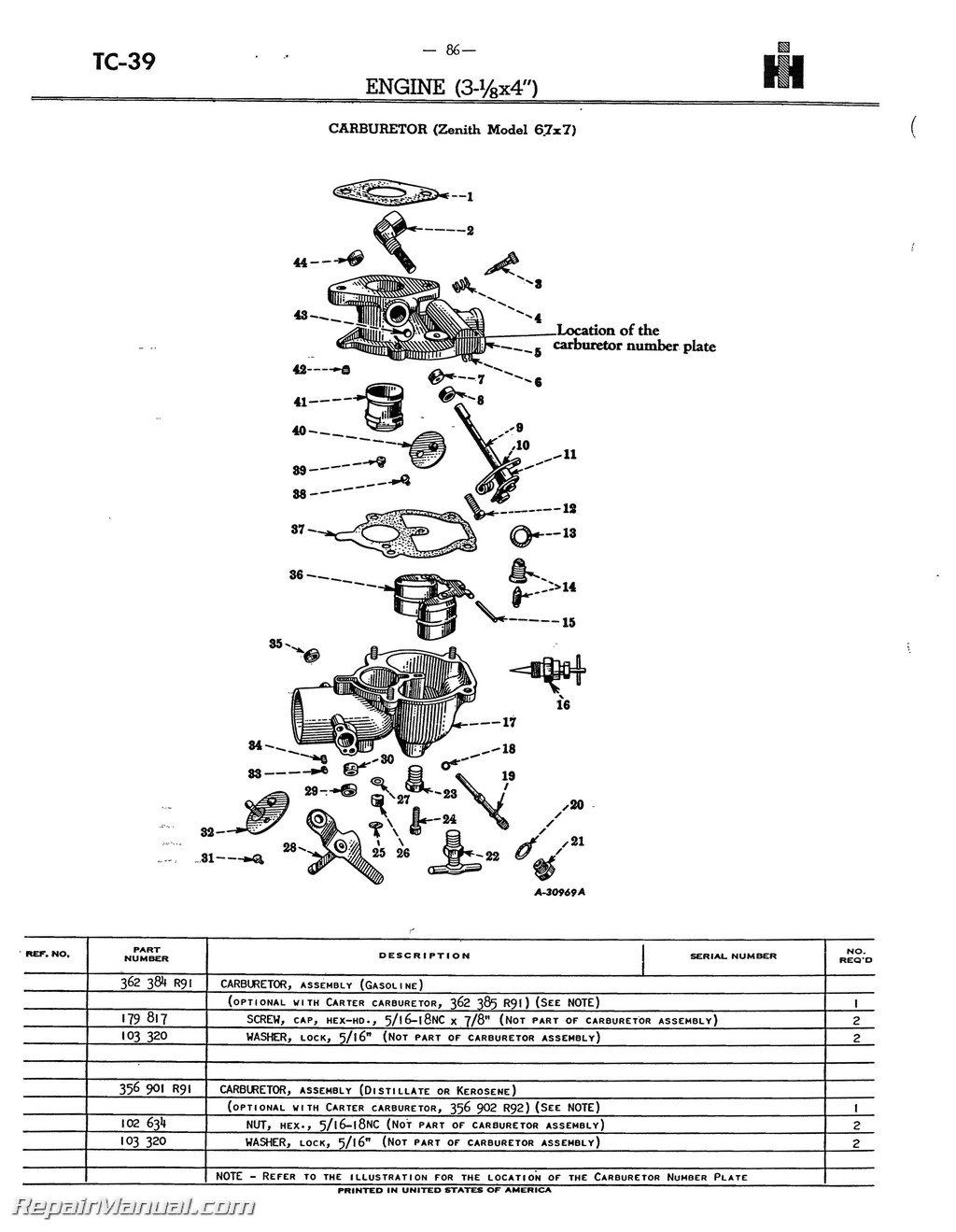Farmall Tractor Parts Diagram - Wiring Diagrams Entry on