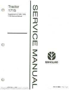 Ford 1715 Tractor Repair Manual Supplement_001