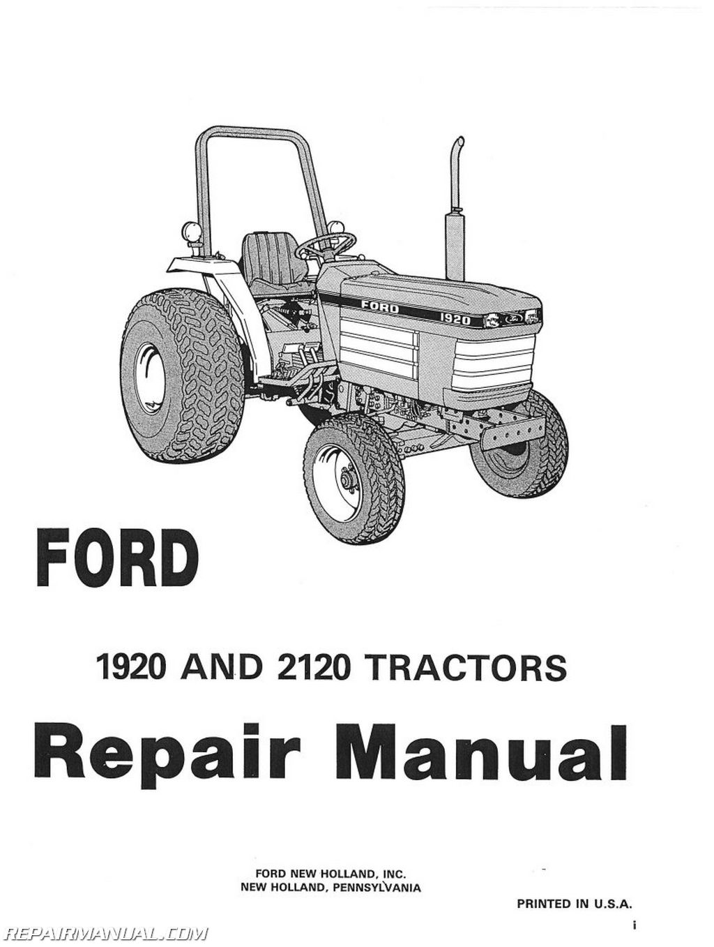 ford 1920 tractor parts diagram