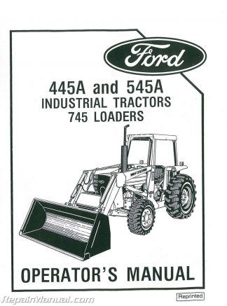 ford 1920 2120 service manual rh repairmanual com Ford 4000 Tractor 545A Ford Tractor Model