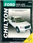 Ford F-150 Repair Manual Pickup Trucks 2004-2012 Chilton