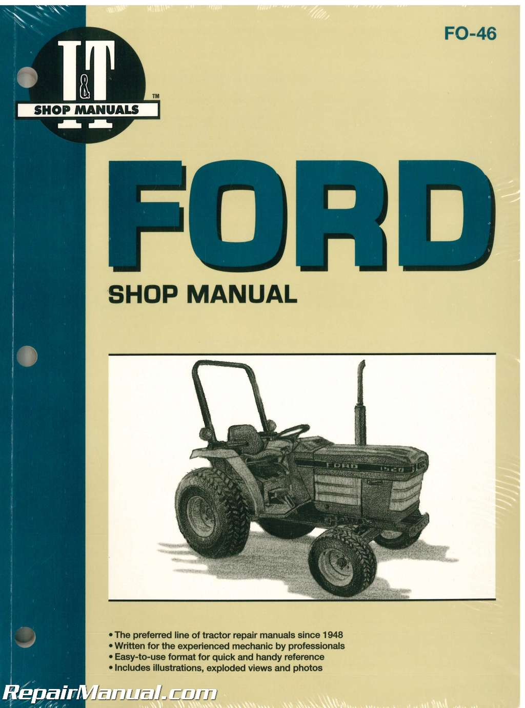 Ford New Holland 1120 1220 1320 1520 1720 1920 2120 Tractor Manual Ford 601  Tractor Wiring Diagram Ford 1500 Tractor Wiring Diagram
