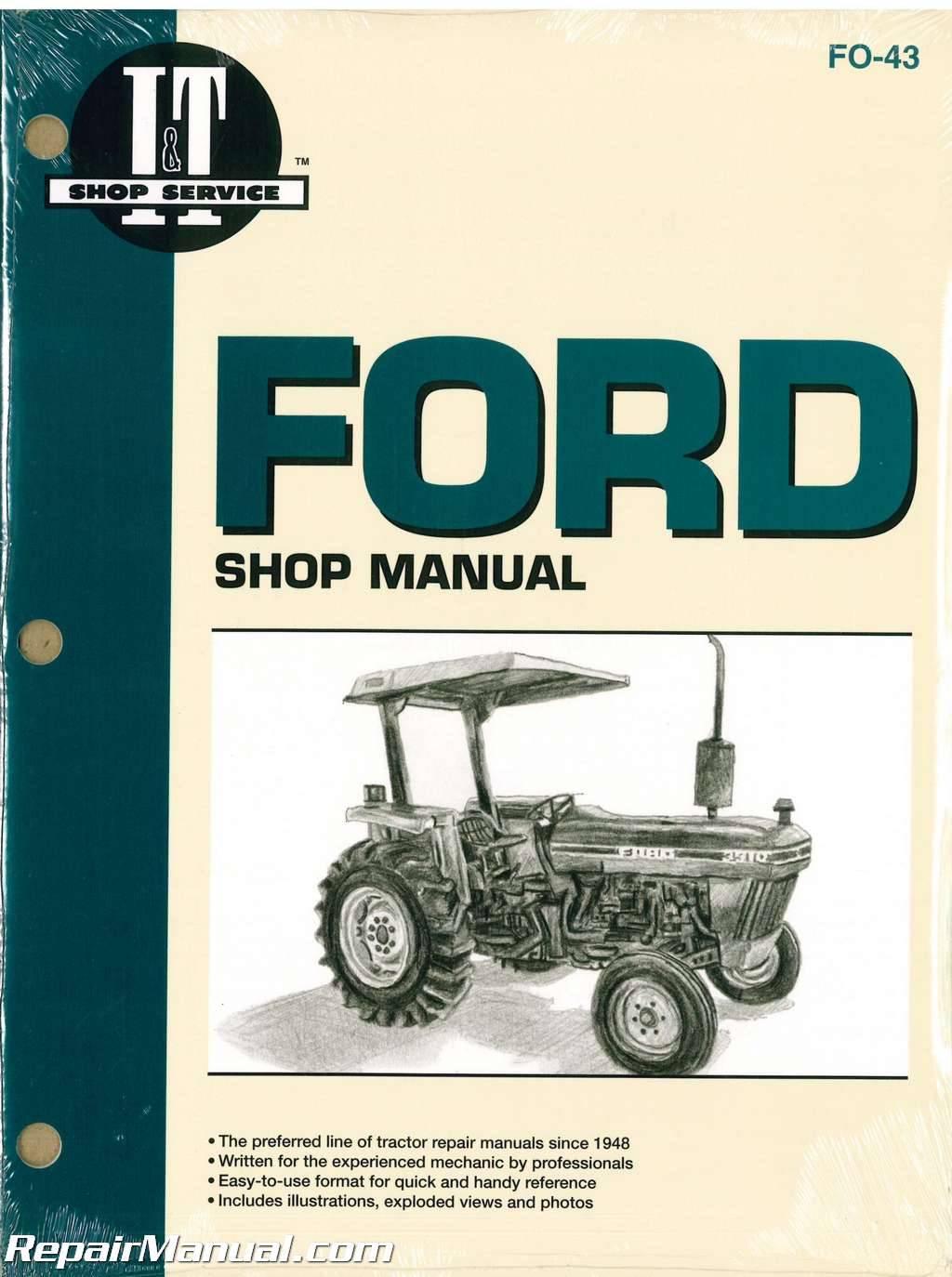 ford new holland 2810 2910 3910 tractor workshop manual rh repairmanual com Ford 9N Electrical Diagram Ford 9N Electrical Diagram