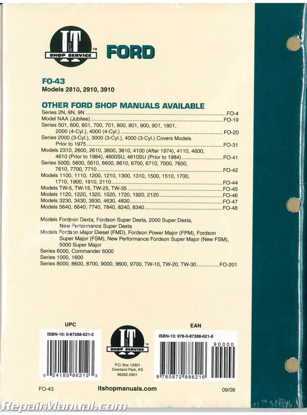 ford new holland 2810 2910 3910 tractor workshop manual Ford 2910 Specifications ford 2910 service manual pdf