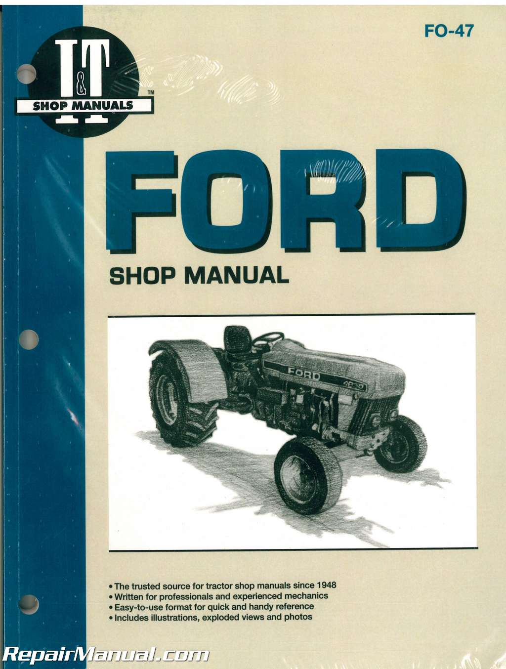 Ford 3930 Wiring Diagram from www.repairmanual.com