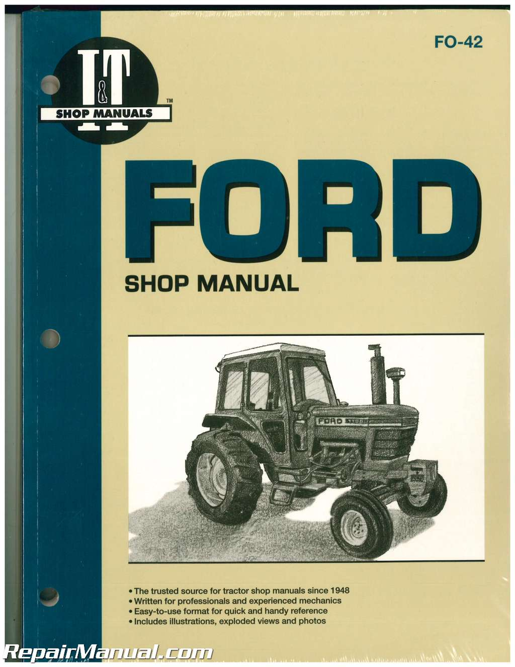 ford new holland 5100 5200 5600 5610 6600 6610 6700 6710 7100 7200 rh repairmanual com  ford 7610 alternator wiring diagram