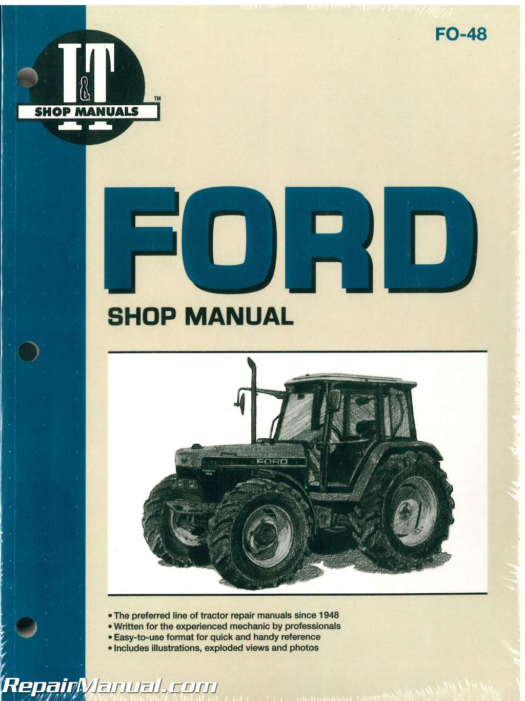 Ford New Holland 5640 6640 7740 7840 8240 8340 Tractor Workshop Manual   Fo