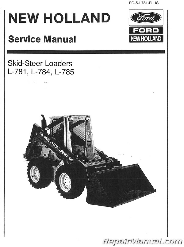 ford new holland l781 l784 and l785 skid steer service manualHolland L785 Skid Steer Wiring Diagram #11